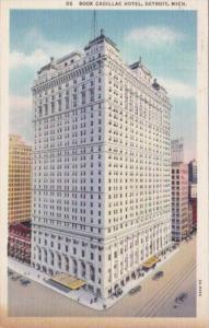Michigan Detroit Book Cadillac Hotel 1937 Curteich