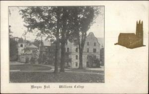 Williamstown MA Morgan Hall Williams College c1905 Postcard