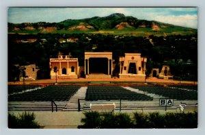 Spearfish SD, Black Hills Passion Play Amphitheater Chrome South Dakota Postcard