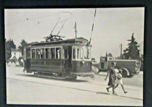 Ungebraucht Vintage Schweiz 1908 Zug Going To Minusio Echt Foto Postkarte