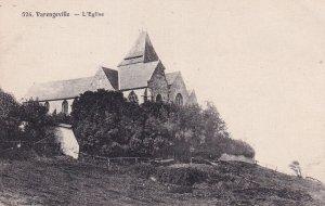 VERENGEVILLE, Seine Maritime, France, 1900-1910's; L'Eglise