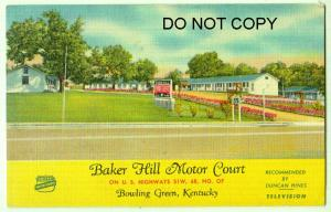 Baker Hill Motor Courth, Bowling Green Ky