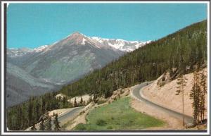 Colorado Red Mountain Postcard