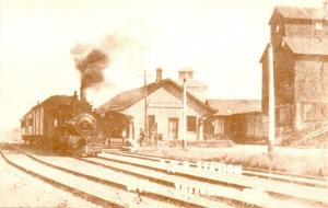 Canada - ON, Tottenham. Railway Station circa 1905