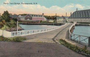 PORTSMOUTH, New Hampshire, 1900-10s; Navy Yard Bridge