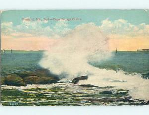 Divided-Back CAPE COTTAGE CASINO Portland Maine ME HM7073