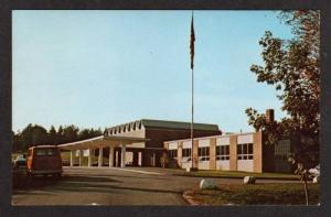 ME Entrance Telstar High School BETHEL MAINE Postcard
