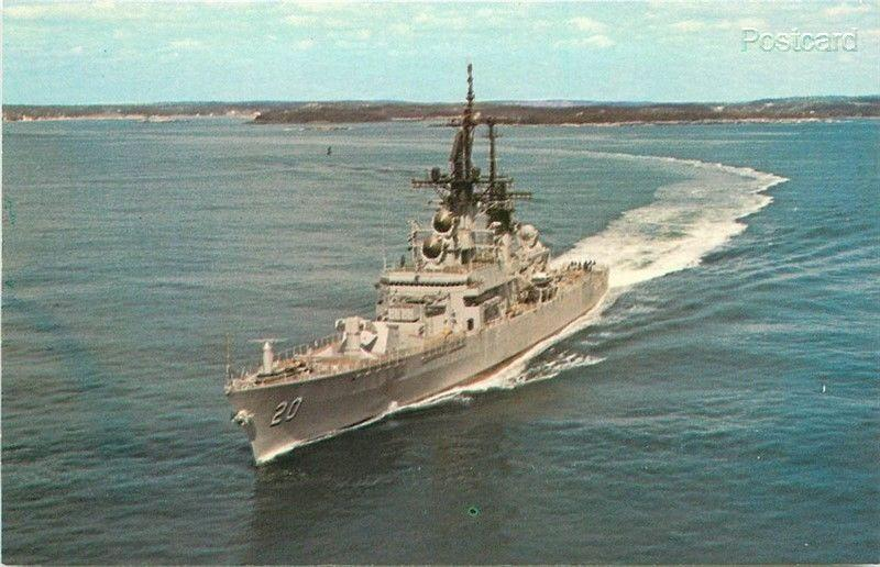 USS Richmond,  K. Turner, Guided Missile Frigate, Dexter Press No. 93104-C