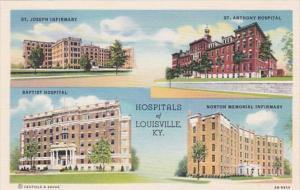 Kentucky Louisville Baptist Hospital St Joseph Hospital St Anthony Hospital &...