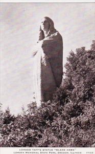 Illinois Chicago Lorado Tafts Statue Black Hawk Lowden Memorial State Park