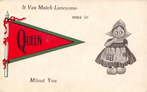 Queen PA~It Vas Mutch Lonesomeness Mitout You~Bruce Miller of Millersville c1912