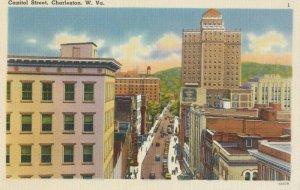CHARLESTON , West Virginia , 1930-40s ; Capitol Street