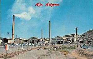 Ajo Arizona Phelps Dodge Mill Vintage Postcard J51851