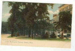 Washington Avenue, Detroit, Michigan, pre-1907