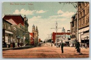 Durban ZA~West Street Central~London Chambers~Smith & Potts~Policemen~c1908