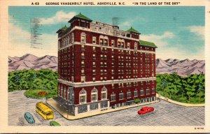 North Carolina Asheville George Vanderbilt Hotel 1953