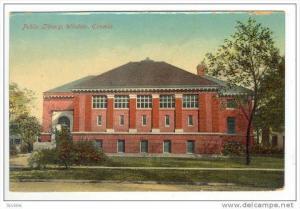 Public Library,Windsor,Ontario,Canada 1911 PU