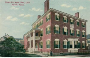 SALEM , Massachusetts, 1900-10s; Home for Aged Men