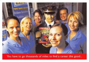 Advertising Postcard Careers Flight Centre Limited NEW ZEALAND