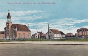 WOLSELEY , Canada , 00-10s ; Roman Catholic Church & Convent