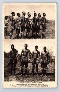 Postcard Africa Mozambique Africa Oriental Portuguêsa : Dançarinos e Dança...