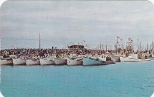 Blessing of the Fishing Fleet , METEGHAN , Nova Scotia , Canada , 50-60s