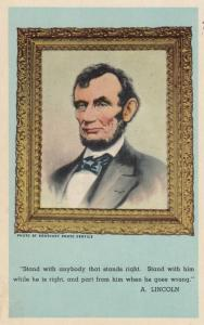 President Abraham Lincoln portrait , 1910-30s