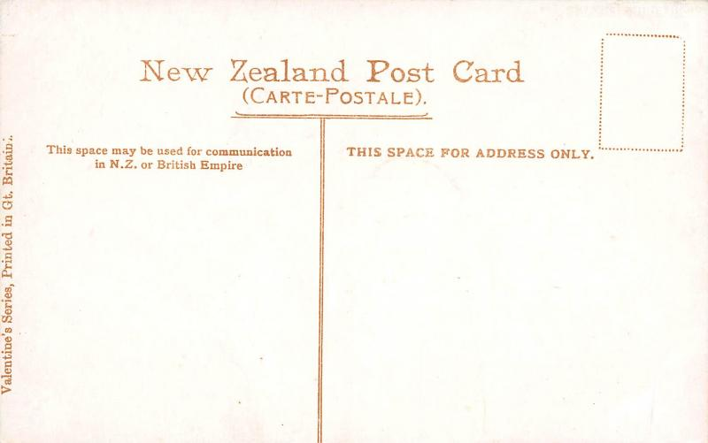 Sulphur Terrace, Waiotapu Valley, New Zealand, Early Postcard, Unused