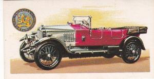 Trade Card Brooke Bond History of the Motor Car No 21