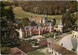 Postcard Modern Fraze (E and L) Aerial view the castle