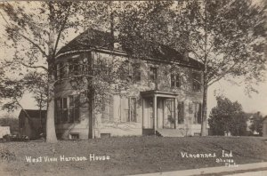 RP; VINCENNES , Indiana , 1921 ; Wm Henry Harrison Mansion , West
