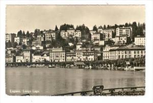 RP   LUGANO , Ticino, Switzerland, PU-1950   Lungo Lago