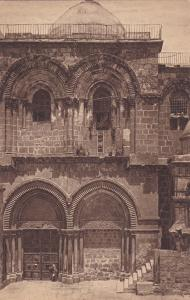 Church of the Holy Sepulchne, Jerusalem , 10-20