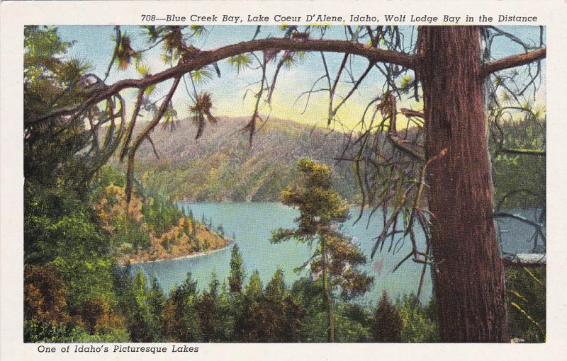 BLUE CREEK BAY, Lake Coeur d'Alene , Idaho , 1930-40s