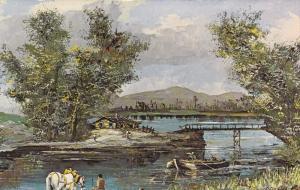 15563 Morris Katz Painting     Noon Time