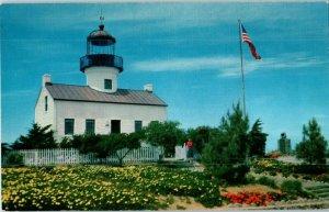 Point Loma Light House San Diego California Union Oil Co Postcard