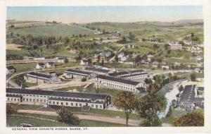 General View of the Granite Works - Barre VT, Vermont - WB