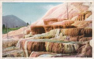Pulpit Terraces Yellowstone National Park Detroit Publishing