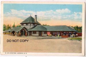 B & M Station, Laconia NH