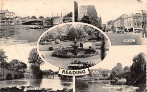 Reading, Forbury Gardens Sonning Bridge Friar Street Caversham Hart Hotel 1964