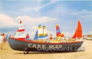 Annual Hobie Cat Regatta Cape May, NJ USA Ship Postcard Post Card Cape May, N...