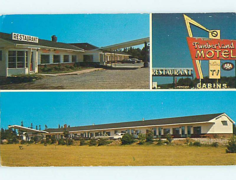 Unused Pre-1980 OLD CARS & TIMBERLAND RESTAURANT IN SUSSEX NB CANADA s6759
