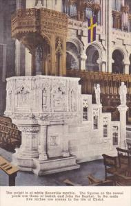 The Pulpit In The Crossing The Cathedral Of Saint John The Divine New York Ci...