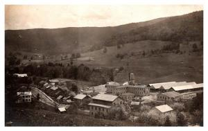 Vermont   Aerial View of  Estes Wood Mill Factory ,   Wyomanock  RPC