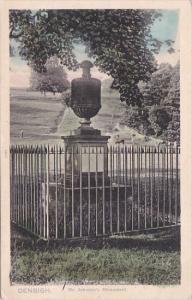 England Denbigh Dr Johnson's Monument
