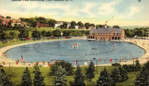 New York Albany Lincoln Park Swimming Pool 1951