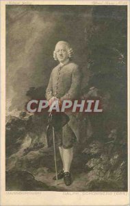 Postcard Old National Gallery Gainsborough Ralph Schomberg (684)