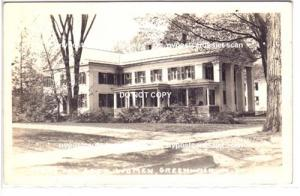 RPPC, Home for Aged Women, Greenwich NY
