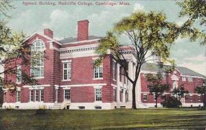 Massachustetts Cambridge Agassiz Building Radcliffe College