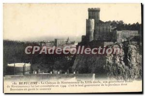 Old Postcard Beaucaire Chateau De Montmorency From